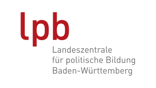 Logo und Verlinkung zur Landeszentrale für politische Bildung Baden-Württemberg