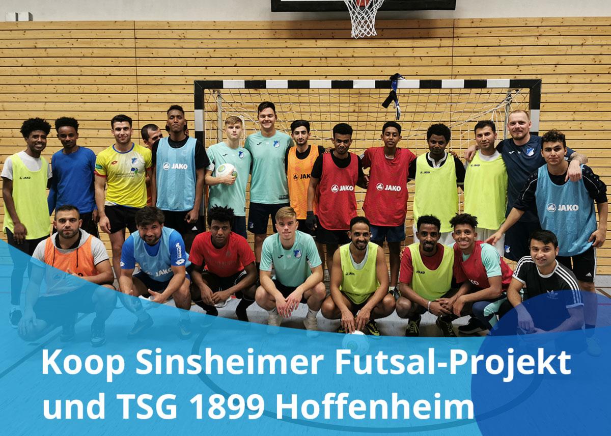 Titelbild des Sinsheimer Futsal-Projekts