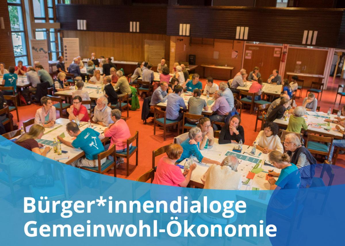 "Titelbild Projekt ""Bürger*innendialog Gemeinwohl-Ökonomie"""