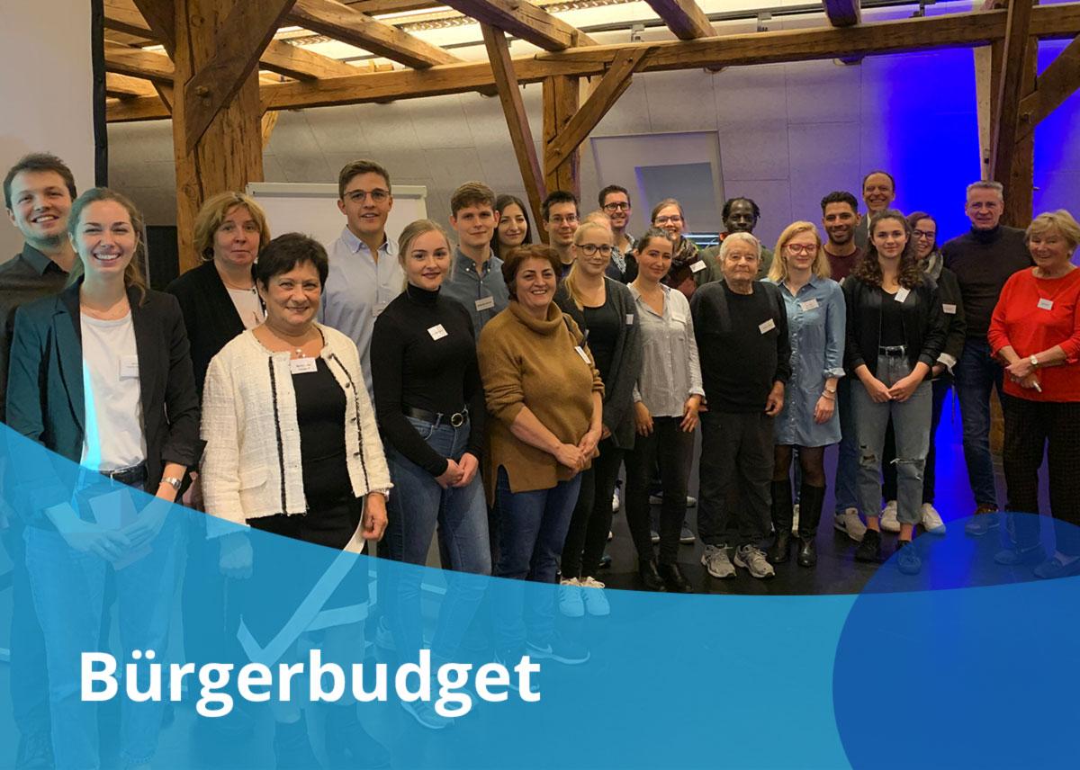 Titelbild des Projektes Bürgerbudget