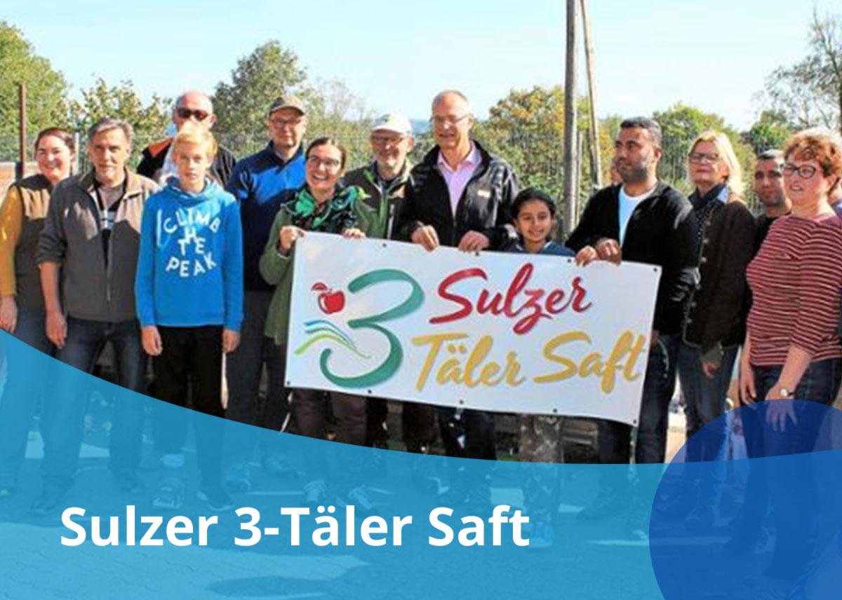 Titelbild Projekt Sulzer 3-Täler-Saft