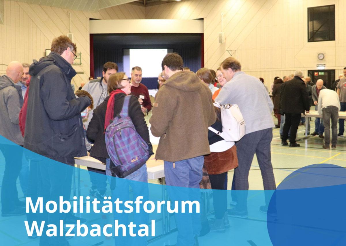 """Titelbild Projekt """"Mobilitätsforum Walzbachtal"""""""