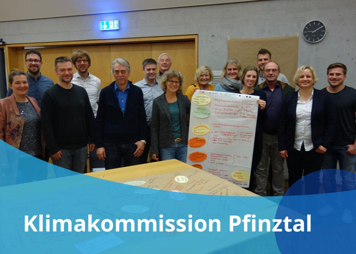 "Titelbild Projekt ""Klimakommission Pfinztal"""