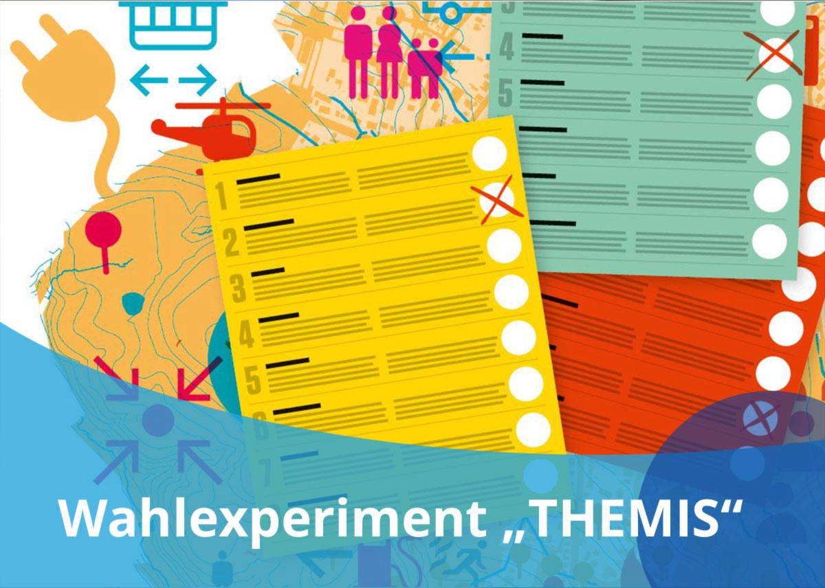 "Titelbild Projekt ""Wahlexperiment THEMIS"""