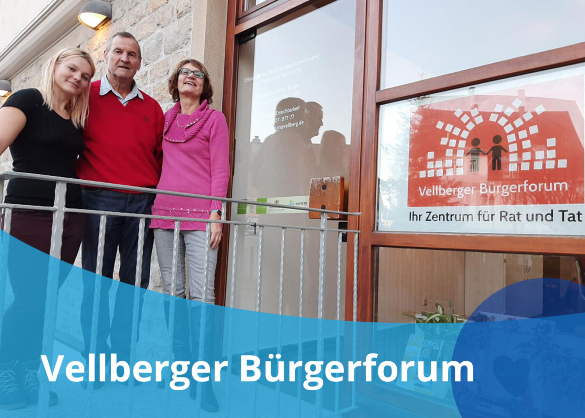 "Titelbild Projekt ""Vellberger Bürgerforum"""