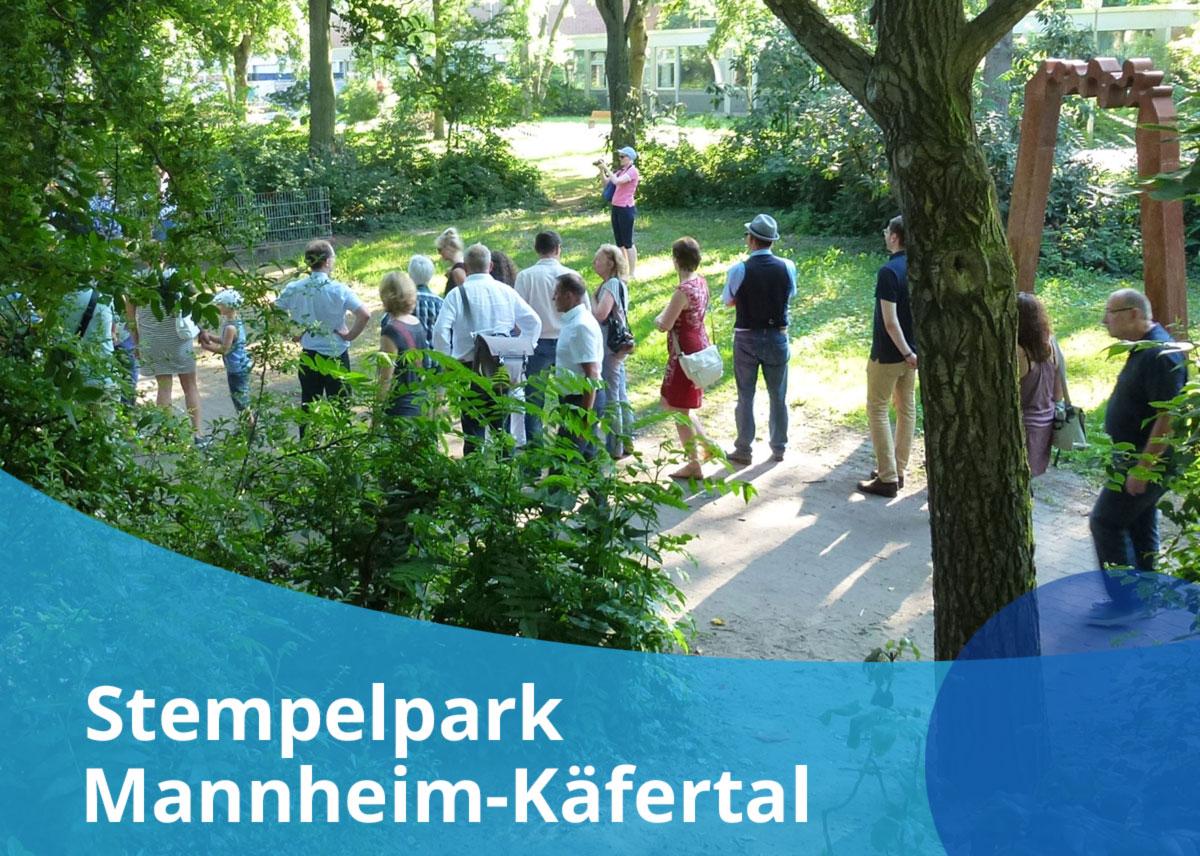 """Titelbild Projekt """"Stempelpark Mannheim-Käfertal"""""""