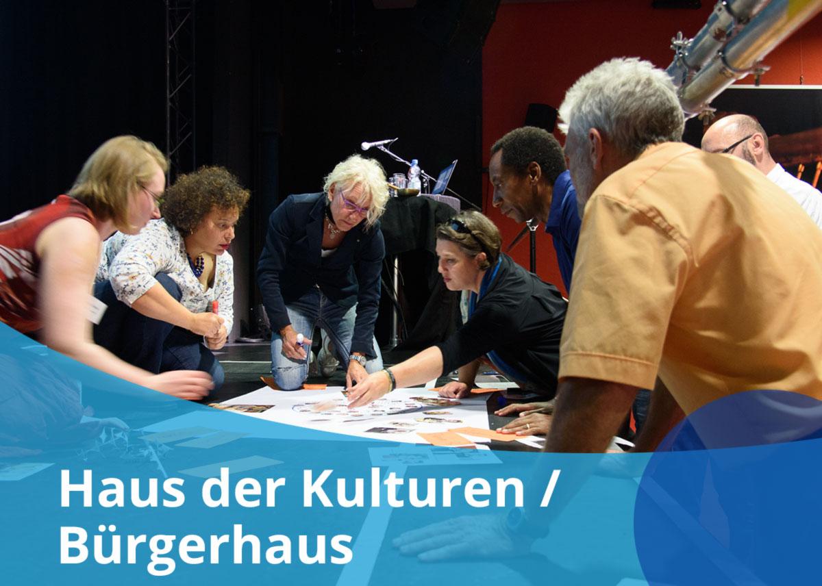 "Titelbild Projekt ""Haus der Kulturen / Bürgerhaus"""