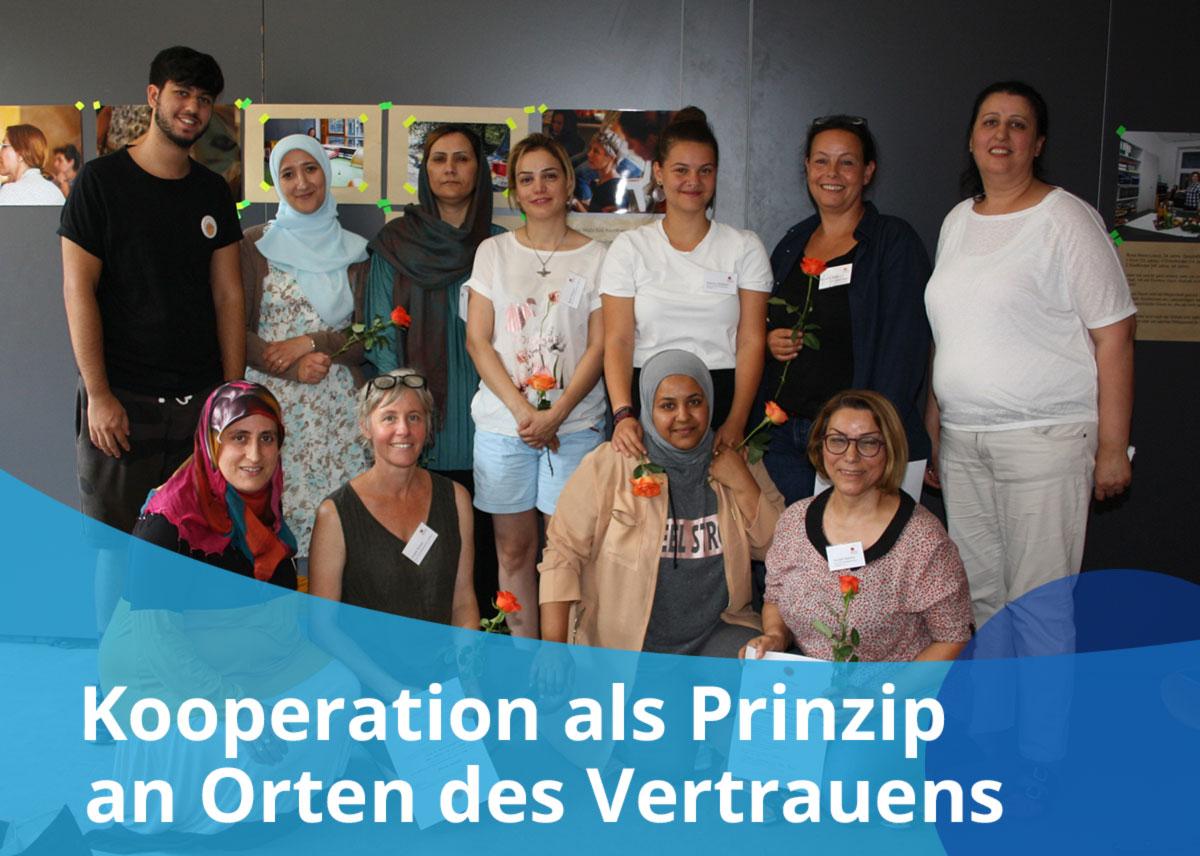 """Titelbild Projekt """"Kooperation als Prinzip an Orten des Vertrauens"""""""