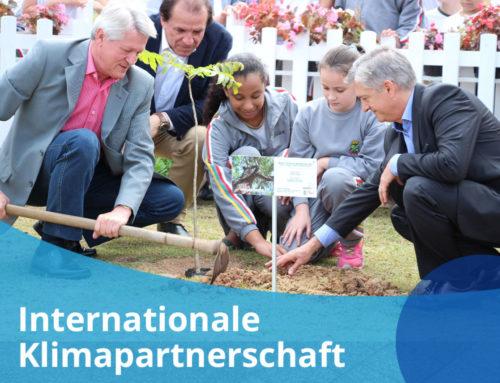 Von hier bis über den Atlantik: Internationale Klimapartnerschaft