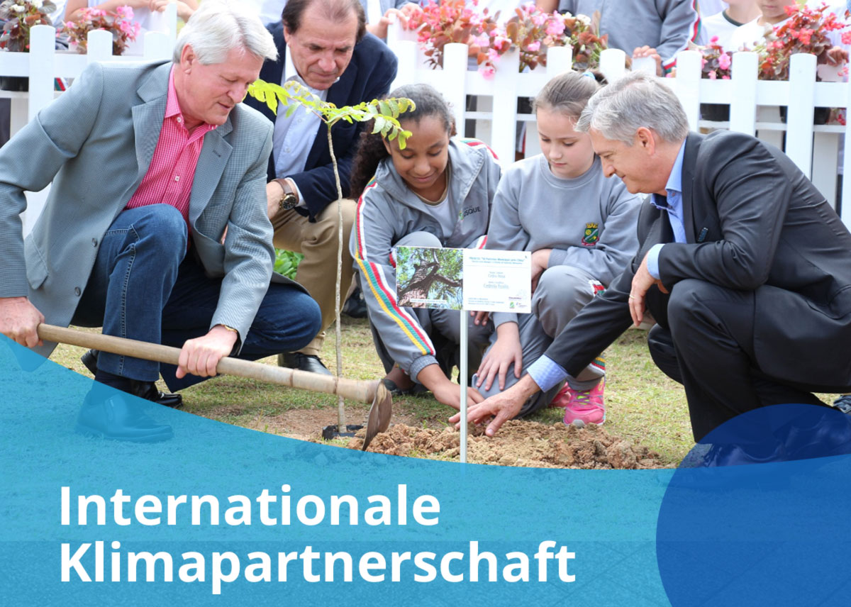 "Titelbild Projekt ""Internationale Klimapartnerschaft"""