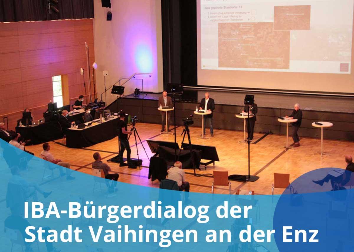 """Titelbild des Projekts """"IBA-Bürgerdialog der Stadt Vaihingen"""""""