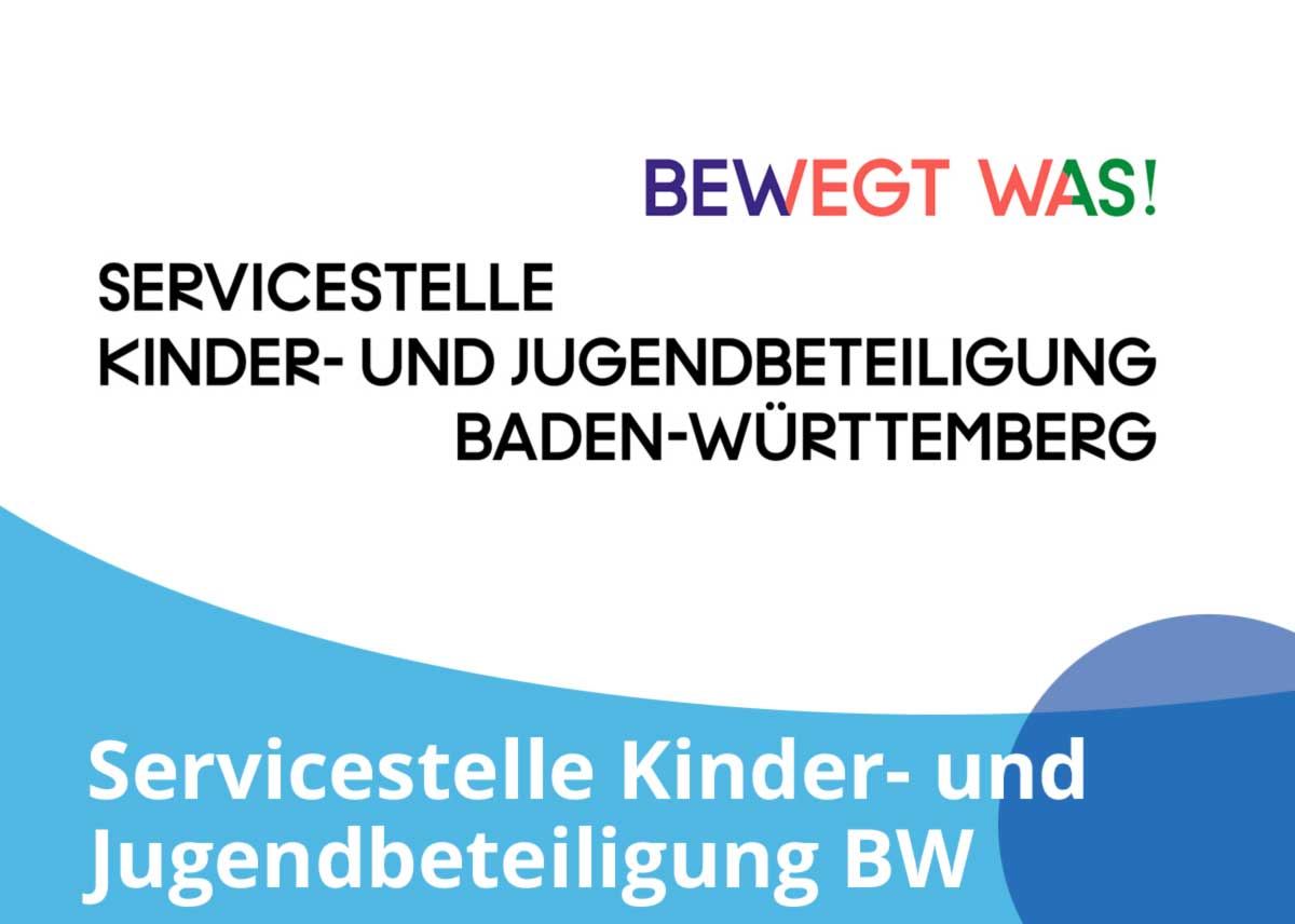 """Titelbild Projekt """"Servicestelle Kinder- und Jugendbeteiligung BW"""""""