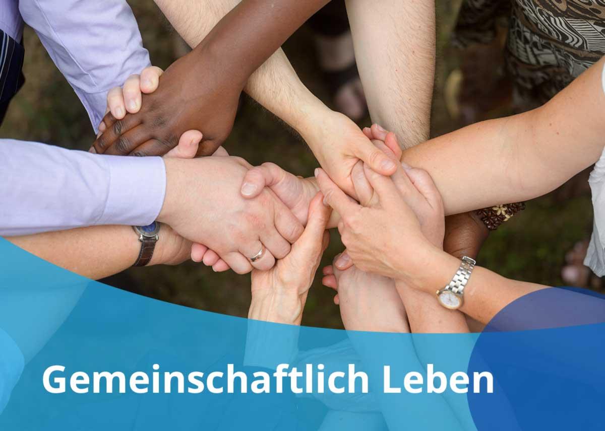 """Titelbild Projekt """"Gemeinschaftlich Leben"""""""